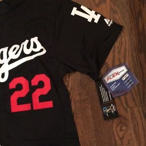 Shirts - Los Angeles Dodgers #22 Kershaw jersey